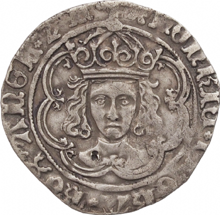 Henry VII (Facing Bust) Groat 1485-1509